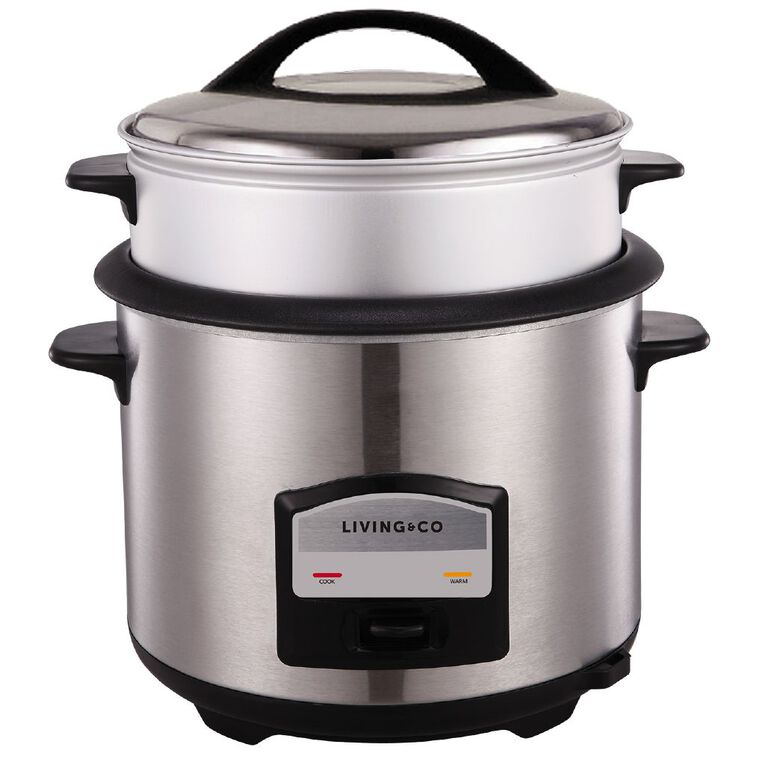 Living & Co Rice Cooker 13 Cup, , hi-res