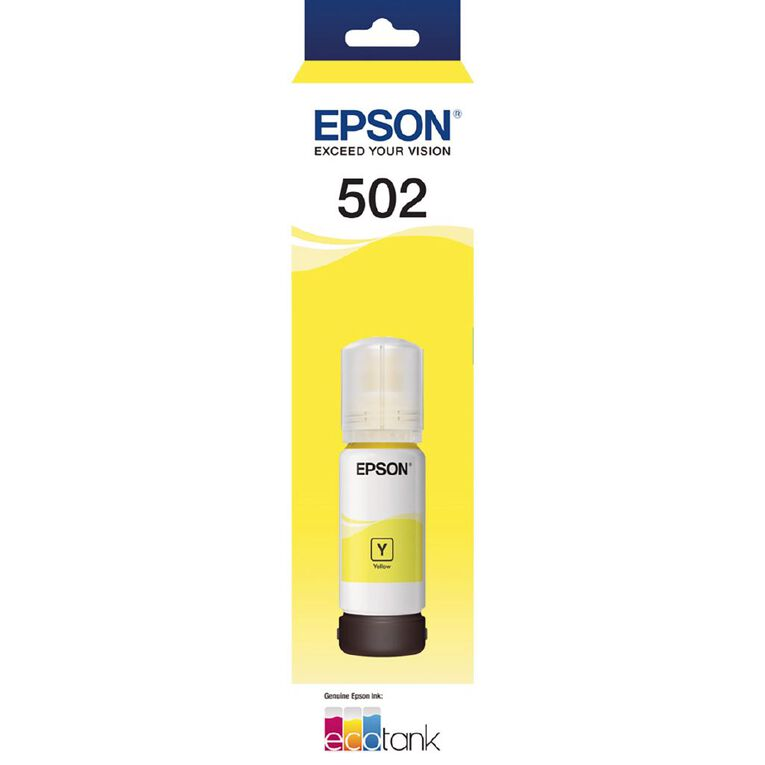 Epson T502 Ink Yellow (6000 Pages), , hi-res