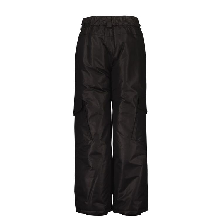 Young Original Girls' Ski Pants, Black, hi-res
