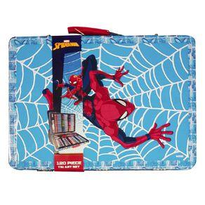 Spider-Man Tin Art Set 120 Piece