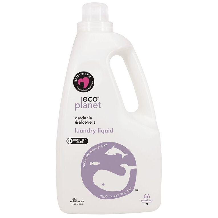ECO Planet Laundry Liquid Gardenia & Aloe Vera 2L, , hi-res