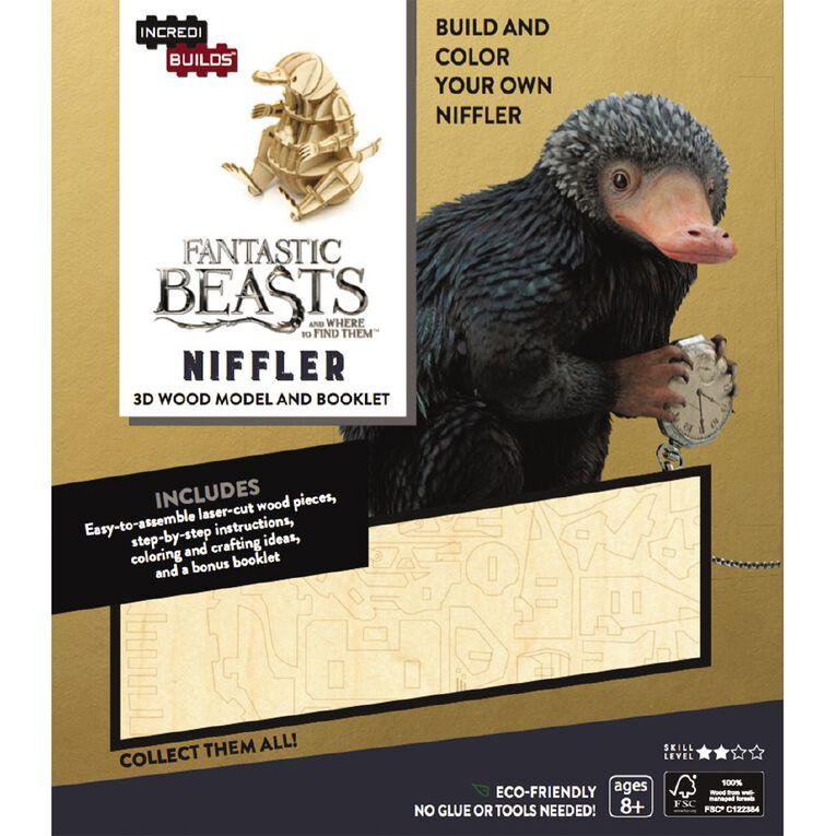 Incredibuilds Fantastic Beasts Niffler 3D Wooden Model, , hi-res