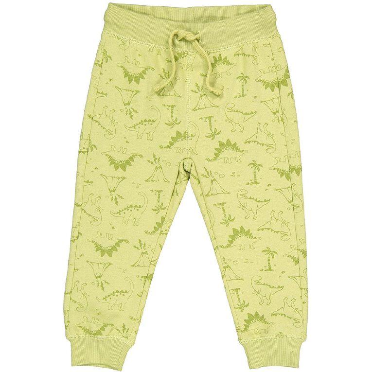 Young Original Toddler Printed Trackpants, Green Light, hi-res