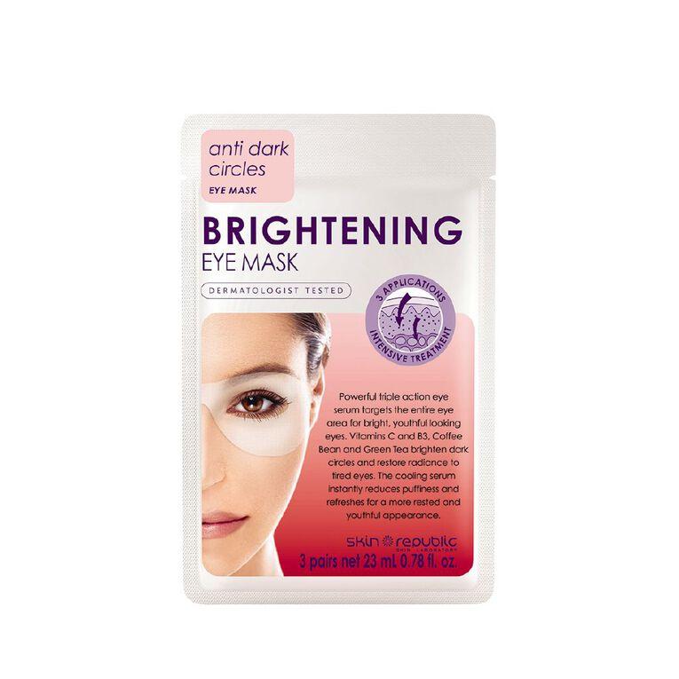 Skin Republic Brightening Eye Mask, , hi-res