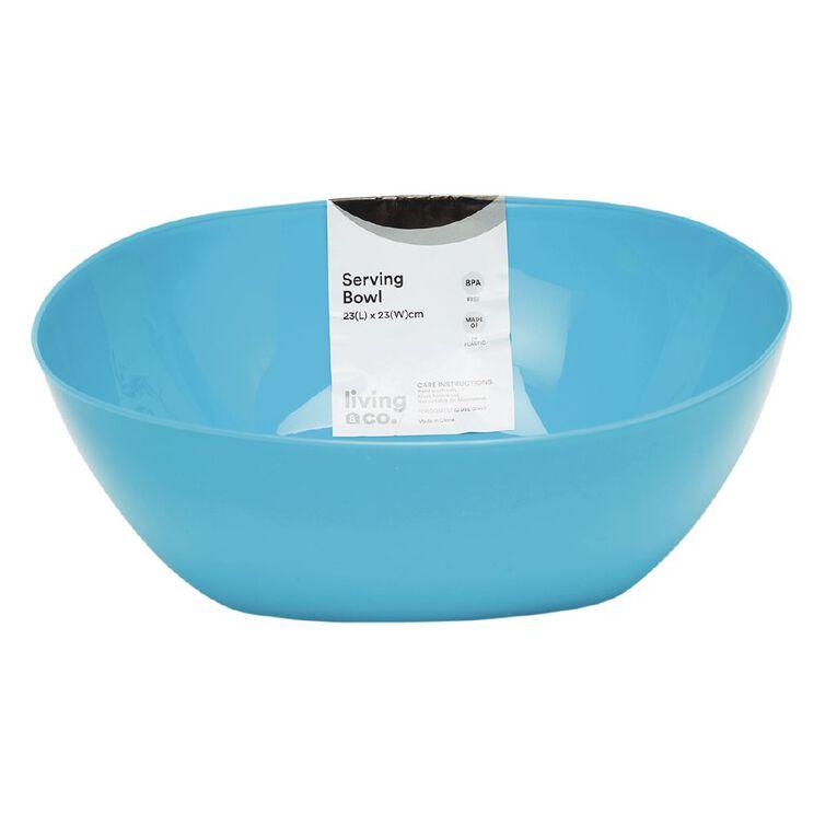 Living & Co Picnic Serve Bowl Turquoise, , hi-res
