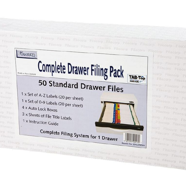 Filecorp Vertical File Starter Pack, , hi-res