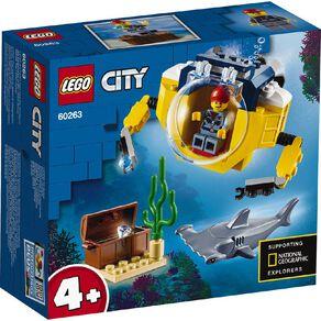 LEGO City Ocean Mini Submarine 60263