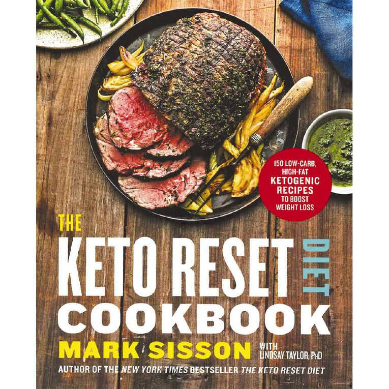 The Keto Reset Diet Cookbook by Mark Sisson, , hi-res