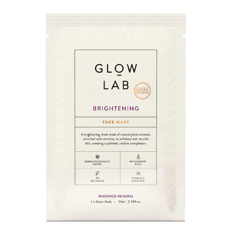 Glow Lab Brightening Face Mask 23ml, , hi-res