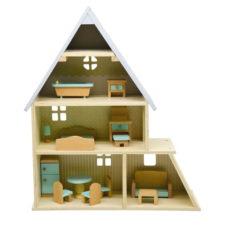 Play Studio Wooden Doll House, , hi-res