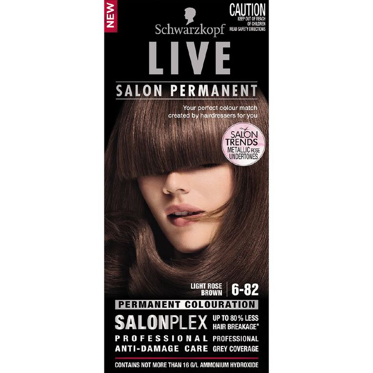 Schwarzkopf Live Salon Permanent Light Rose Brown 6-82, , hi-res