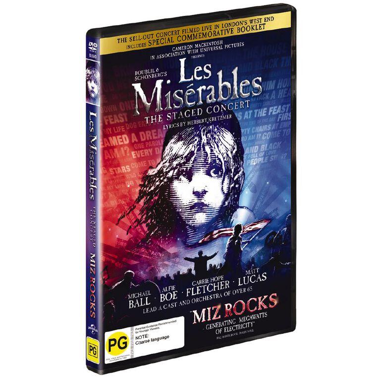 Les Miserables Live 2019 DVD 1Disc, , hi-res