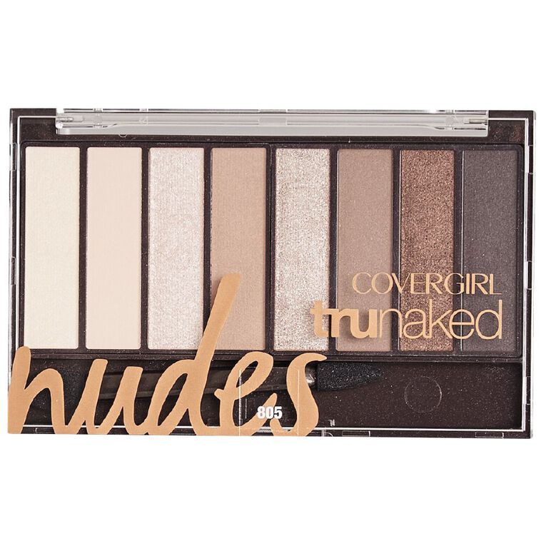 Covergirl TruNaked Eyeshadow 805 Nudes, , hi-res