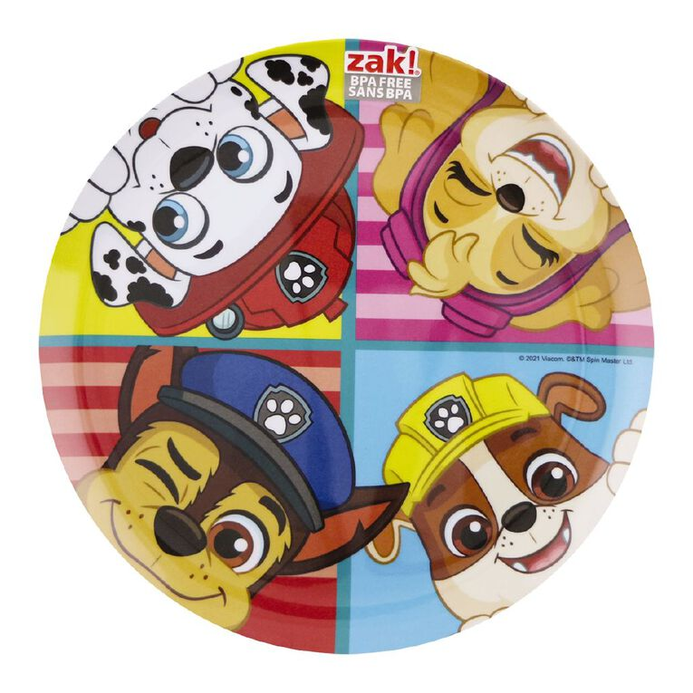 Paw Patrol Kids Plate Multi-Coloured, , hi-res