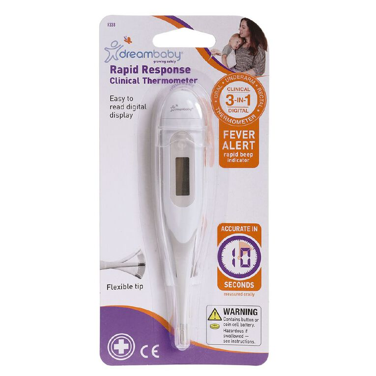 Dreambaby Rapid Response Clinical Thermometer, , hi-res