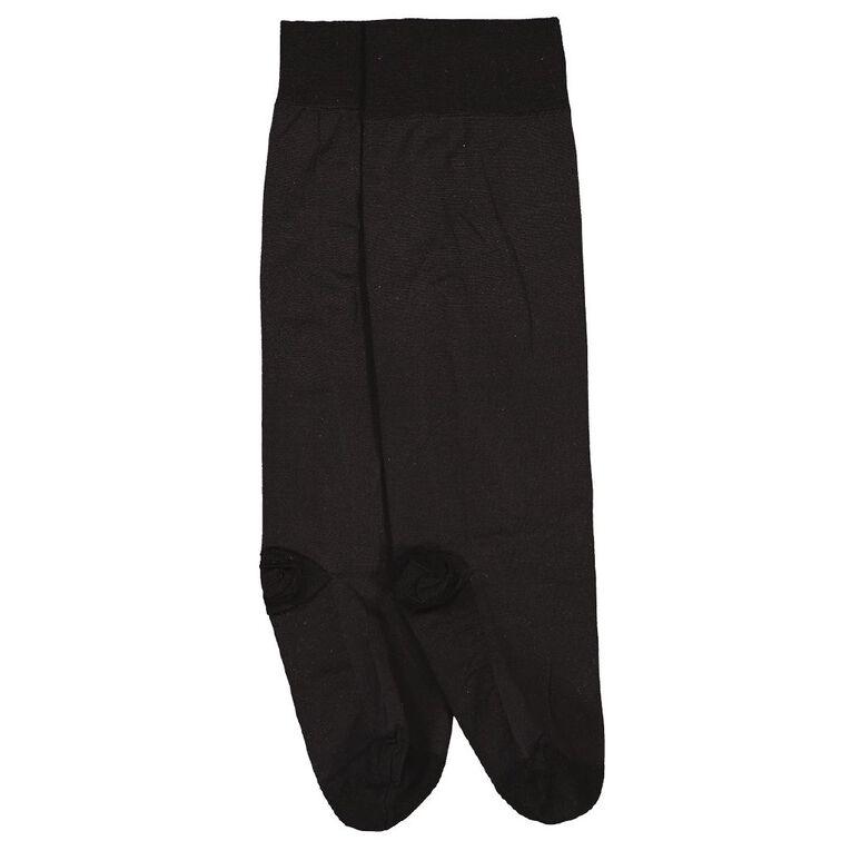 SHEER RELIEF 60D Trouser Sock, Black, hi-res