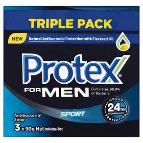 Protex For Men Bar Soap 90g 3 Pack