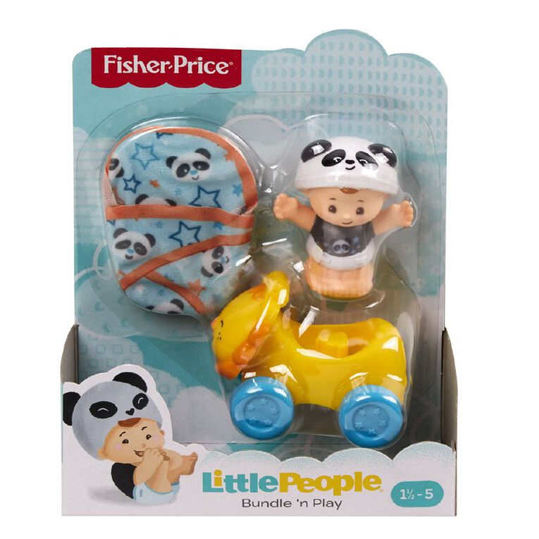 Fisher-Price Little People Babies Bundle n' Play Gear Pack Assorted, , hi-res