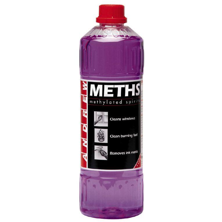 Andrew Methylated Spirits 1L, , hi-res