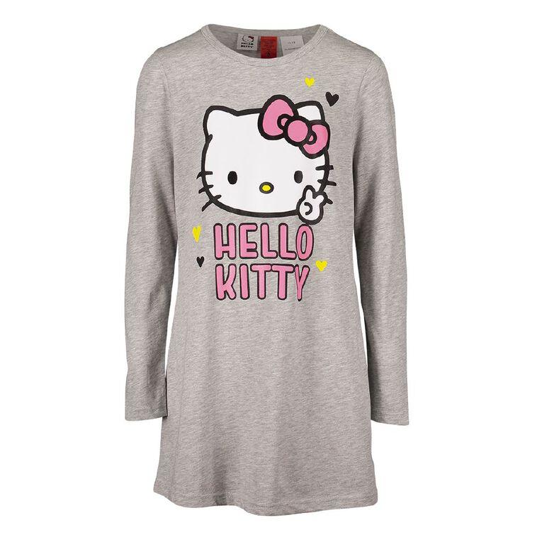 Hello Kitty Girls' Nightie, Grey Light, hi-res
