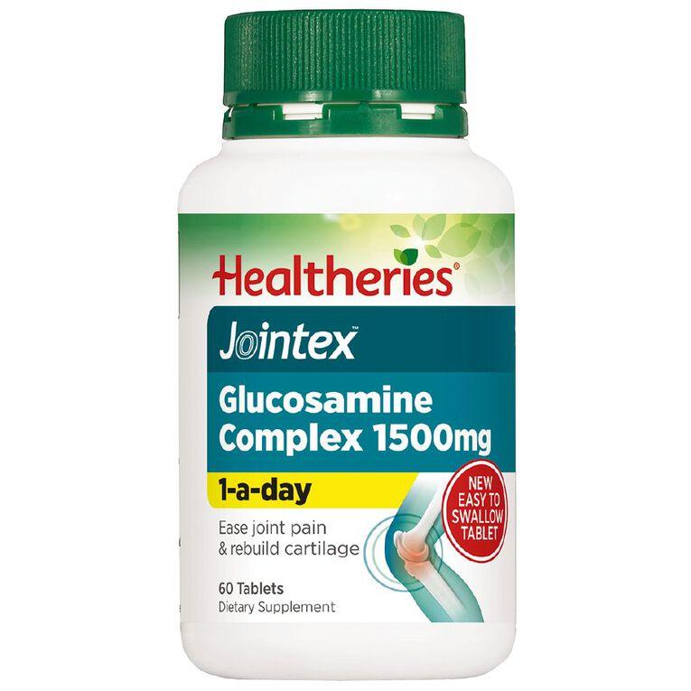 Healtheries Jointex Glucosamine Complex 1500mg 60s, , hi-res
