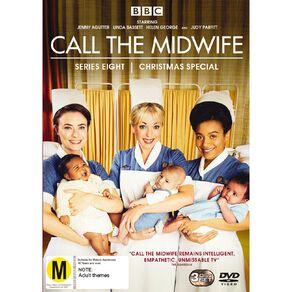 Call The Midwife Season 8 DVD 3Disc