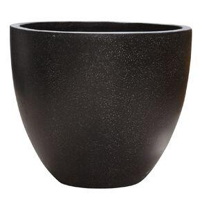 Kiwi Garden Lightweight Cement Egg Planter Black 50cm