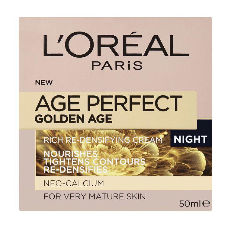 L'Oreal Paris Age Perfect Golden Age Night Cream 50ml, , hi-res