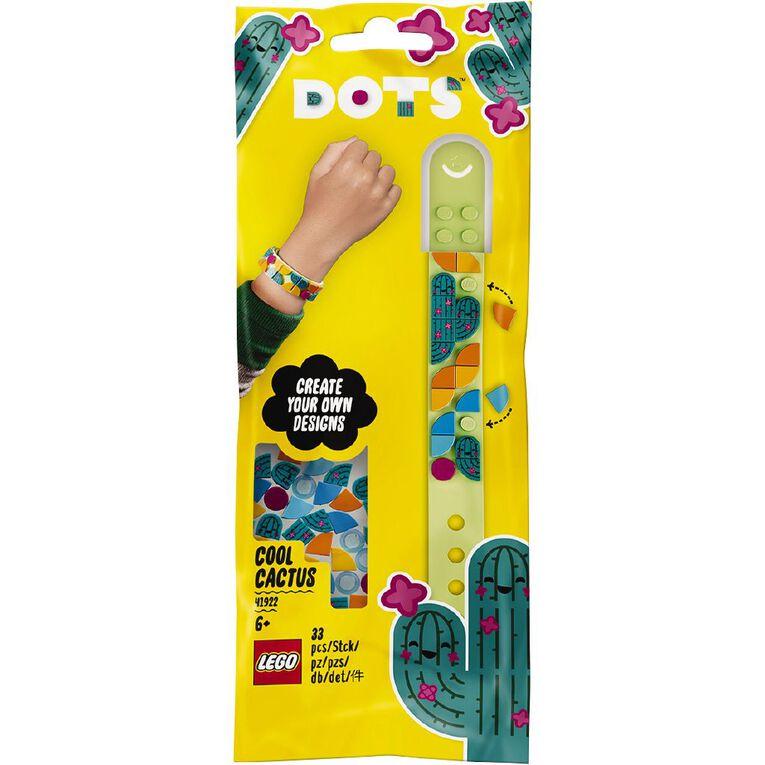 LEGO DOTS Cool Cactus Bracelet 41922, , hi-res