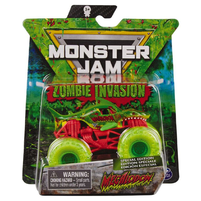 Monster Jam 1:64 Single Pack Exclusive Zombie Glow in the Dark, , hi-res