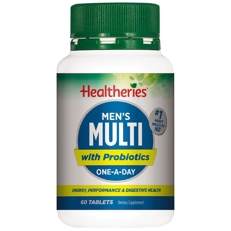 Healtheries Multi Men One-a-Day 60s, , hi-res