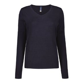 Pickaberry V Neck Jumper
