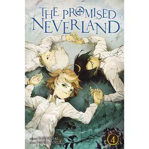 The Promised Neverland Vol #4 by Kaiu Shirai & Posuka Demizu