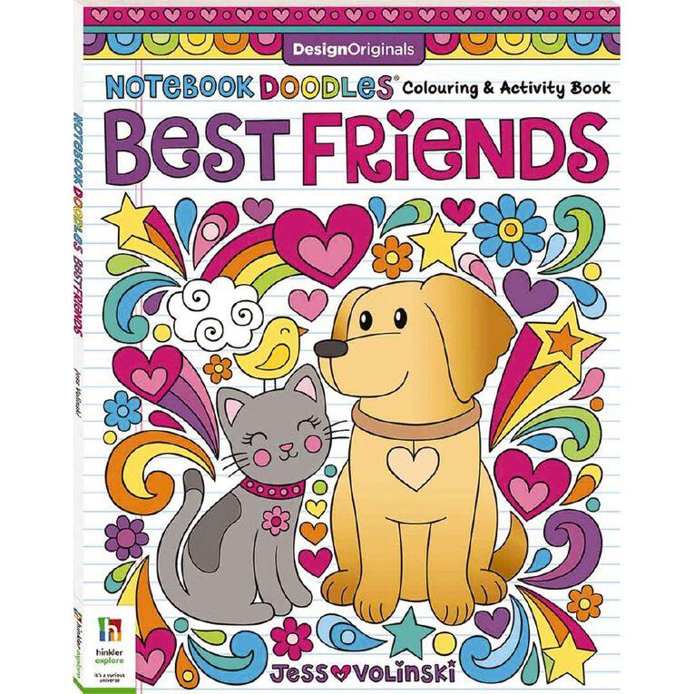 Notebook Doodles: Best Friends, , hi-res