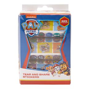 Paw Patrol Holographic Stickers 225 Stickers