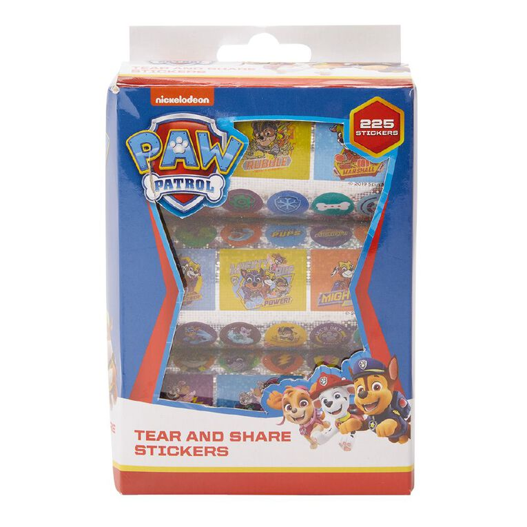 Paw Patrol Holographic Stickers 225 Stickers, , hi-res