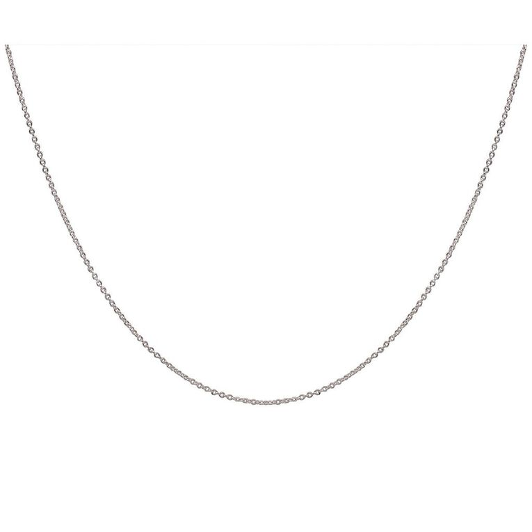 Sterling Silver Chain 45cm, , hi-res