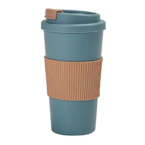 Living & Co Plastic Travel Cup Pastel Pink