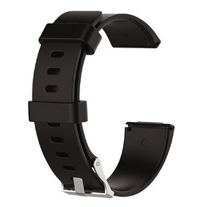 Swifty Black Replacement Strap For Fitbit Versa 2 & Lite Size Large
