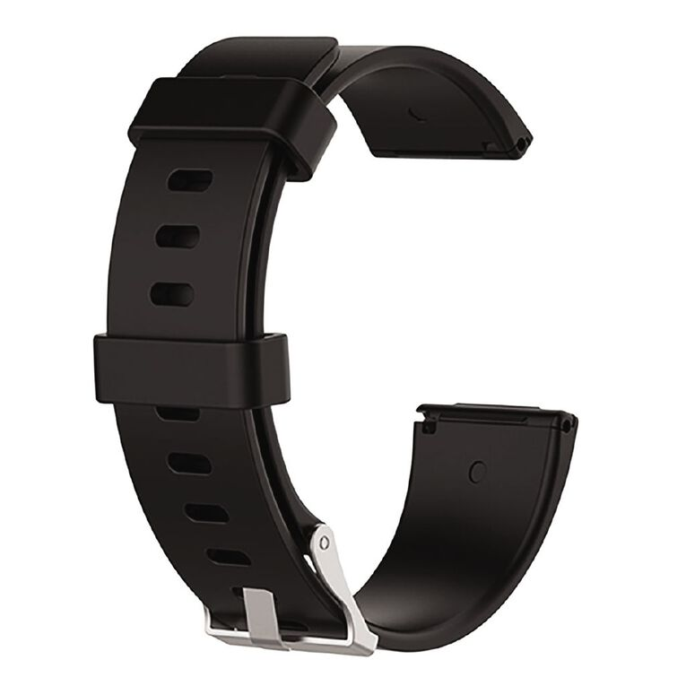 Swifty Black Replacement Strap For Fitbit Versa 2 & Lite Size Large, , hi-res