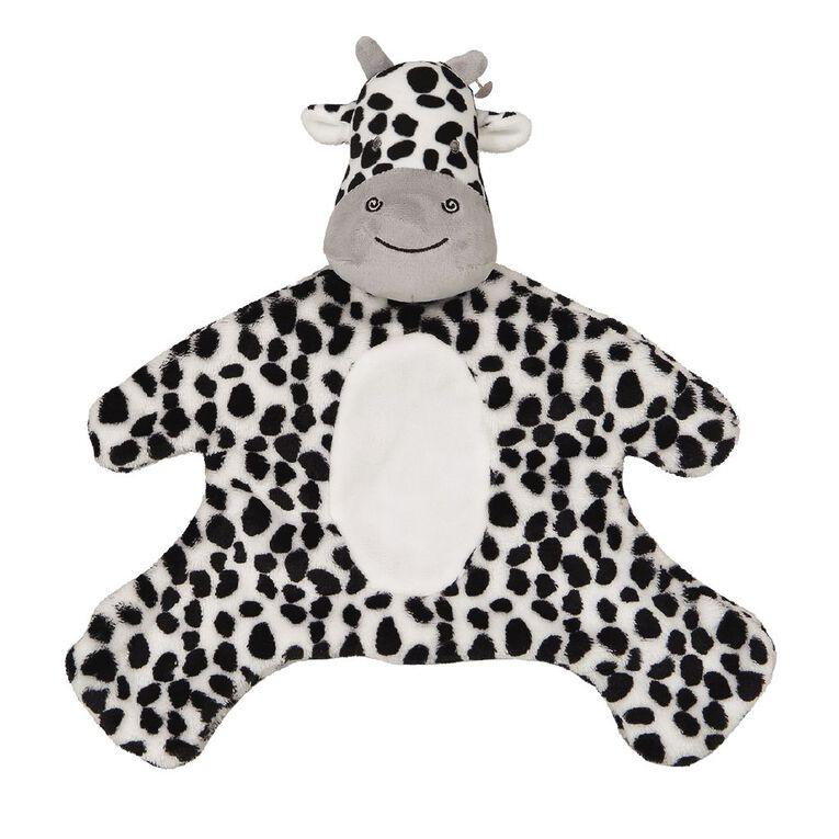 Babywise Cow Blanket Toy, , hi-res