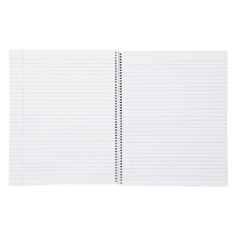 WS Exercise Book 8B5 7mm Ruled Spiral 50 Leaf Wiro, , hi-res