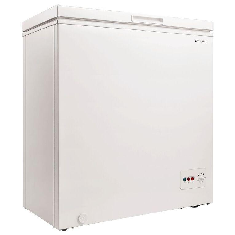 Living & Co Chest Freezer 146 Litre White, , hi-res