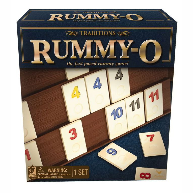 Red Bird Traditions Rummy O Game, , hi-res