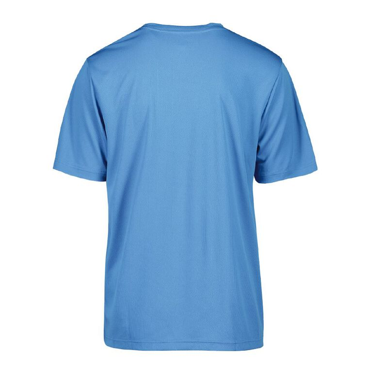 Active Intent Men's Printed Tee, Blue Light, hi-res image number null
