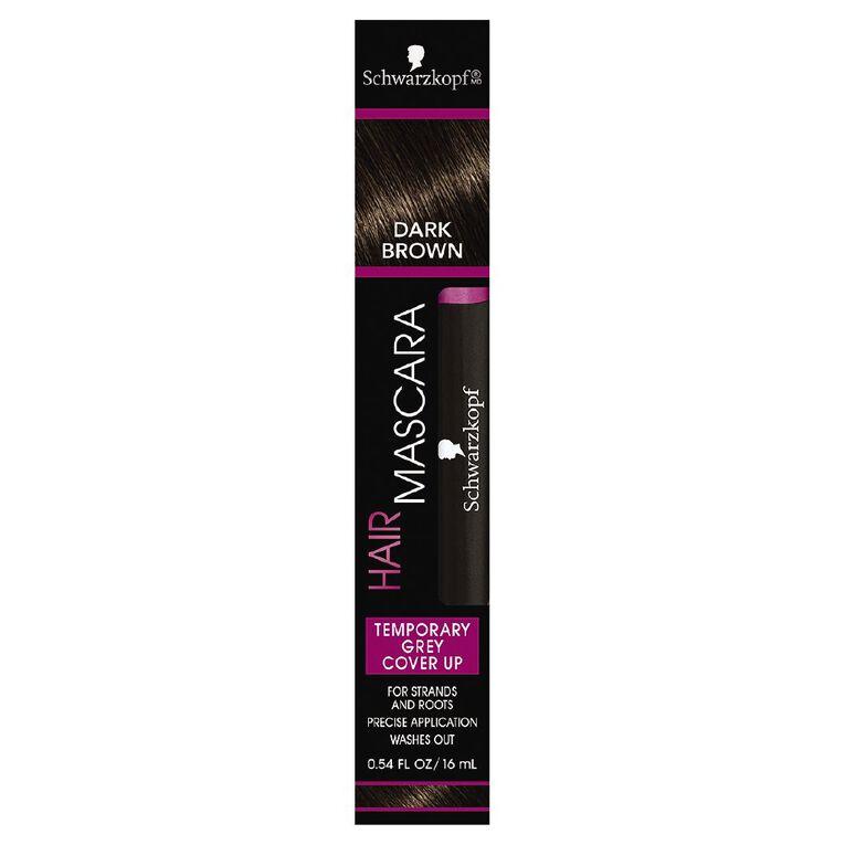 Schwarzkopf Hair Mascara Dark Brown 16mL, , hi-res