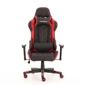Playmax Elite Gaming Chair Red & Black
