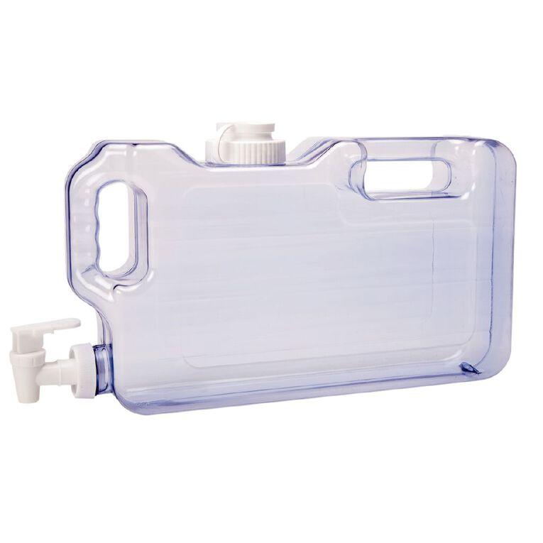 Living & Co Plastic Drinks Dispenser Clear 4L, , hi-res