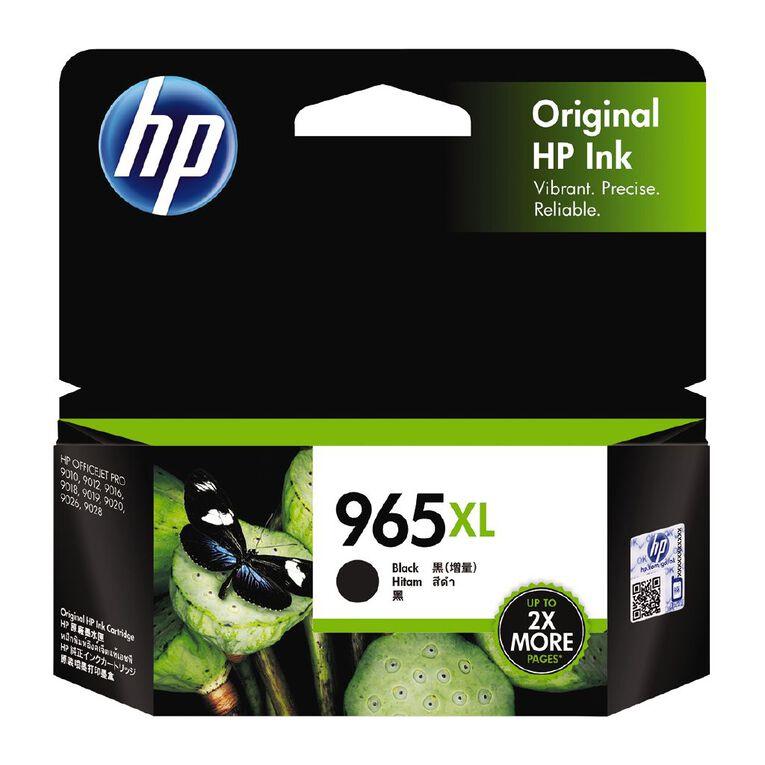 HP Ink 965XL Black (2000 Pages), , hi-res