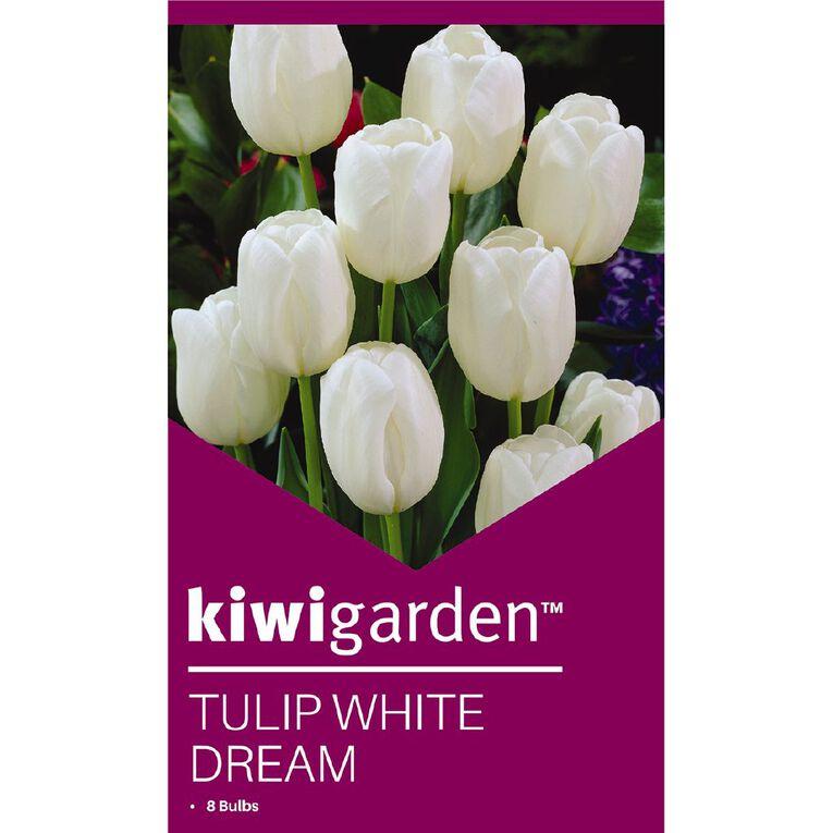 Kiwi Garden Tulip White Dream 8PK, , hi-res